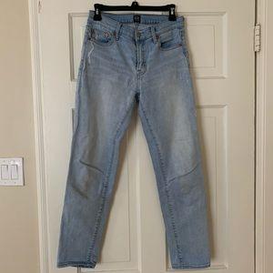 Gap best girlfriend jeans light blue